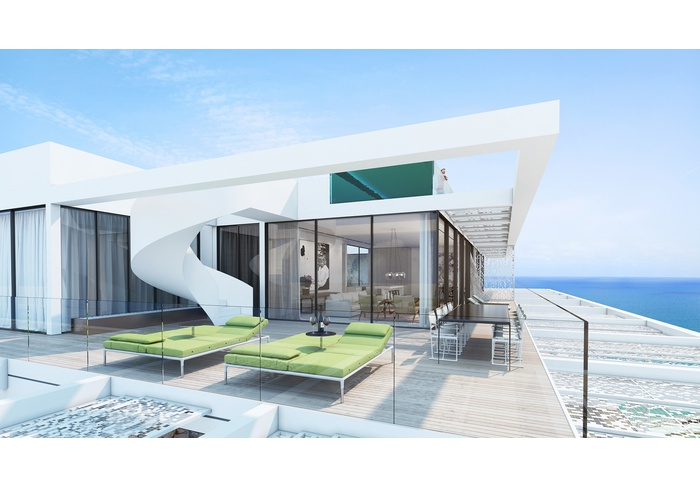NEW & REVOLUTIONARY LUXURY RESIDENCE FRONT LINE ON TEL AVIV'S BEACH